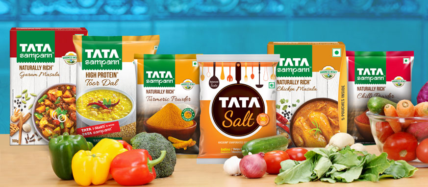 tata food nutrition consumer chemicals limited india flipkart solution distribution