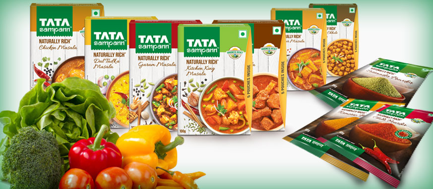 Tata Sampann Spices - Consumer-products - Products - Tata Chemicals
